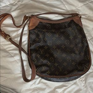 Authentic LV cross body bag